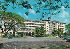 Manila Hotel, Manila, Philippines late 1950s
