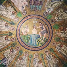 Baptistère des Ariens, #Ravenna - Instagram by @carnetdescapade