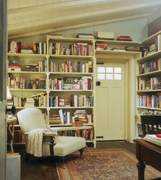 Cottage library from 'The Holiday'