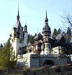 The Peles Castle, Sinaia, Romania, March [© AP Images] Places Around The World, Oh The Places You'll Go, Great Places, Places To Travel, Places Ive Been, Beautiful Places, Places To Visit, Around The Worlds, Beautiful Castles