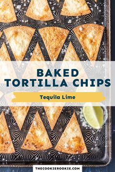Make your own healthy, baked tortilla chips at home with this simple recipe. Made with soft flour tortillas, tequila, and fresh lime juice these chips are perfect for dipping or nachos. Game Day Appetizers, Appetizer Recipes, Latin Food, Flour Tortillas, Game Day Food, Fresh Lime Juice, Learn To Cook, Healthy Options