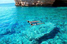 koufonisia greece, super clear waters