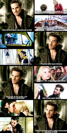 Colin about Emma and Hook's relationship...