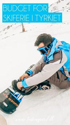 Så billig er en skiferie i Tyrkiet! - TeaTougaard.dk Ski, Budgeting, Budget Organization, Skiing