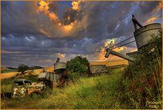Home stead sunrise palouse north idaho