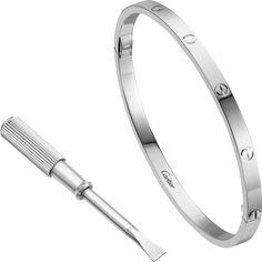 Love bracelet, SMWhite gold