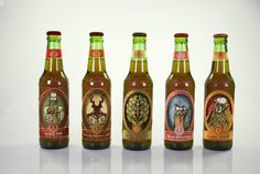 Ober Brewing Branding by Michael Craighead, via Behance