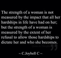 Strength of. Woman