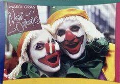 Mardi Gras, Louisiana, New Orleans, Postcards, Joker, Fictional Characters, Art, Carnival, Art Background