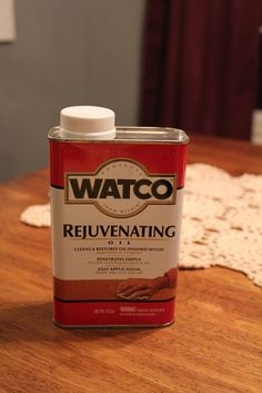 Watco Oil: Secret weapon against scratches. Furniture Scratches, Furniture Repair, Diy Furniture, Furniture Refinishing, Scratched Wood, Wood Repair, Paint Stain, Decorating Tips, Cleaning Hacks