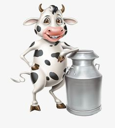 Cow Png, Milk Advertising, Cow Illustration, Cartoon Cow, Milk Packaging, Cow Pictures, Happy Cow, Cute Cows, Gumball Machine