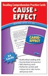 Cause and Effect Practice Cards - level 5.0 - 6.5