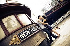 Engagement Photos at South Side Seaport