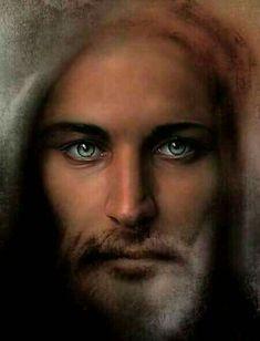God and Jesus Christ Pictures Of Jesus Christ, Religious Pictures, Religious Art, Jesus Our Savior, Jesus Is Lord, King Jesus, La Madone, Jesus Christus, Jesus Painting