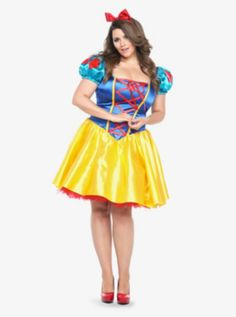 Disney Classic Snow White Costume Dress