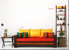 #colorful #furnicheer #decor #indian #royal #lowseating