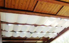 Come accessorio complementare alla soluzione coi pannelli trasparenti abbiamo a disposizione tendine filtranti. Anche con le tendine potete scegliere quanta luce far filtrare e dove concertarla.