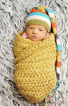 Crochet Baby Cocoon Pattern, Newborn Crochet Patterns, Crochet Baby Beanie, Baby Blanket Crochet, Baby Patterns, Baby Knitting, Crochet Bebe, Crochet For Boys, Boy Crochet