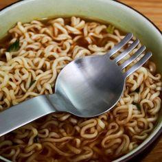 Ramen Spoon & Fork #Design, #DishwasherSafe, #Fork, #Spoon