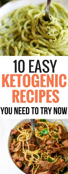 These 10 ketogenic recipes are THE BEST! I'm so glad I found these keto recipes that are simple to make and are great for dinner and breakfast. Now I can eat tasty keto recipes and still lose weight quickly. Pinning this for sure! #ketogenic #ketogenicdiet #keto #ketorecipes #loseweightfast #weightlossrecipes #weightloss