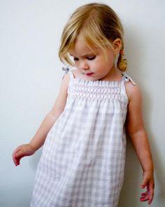 Smocked Dress + Shirt | Purl Soho - Create