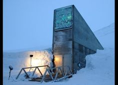 Svalbard Seed Bank-Norway- is a safety net for the ages. With over 4.5 million seed samples stored at near freezing temperatures, the goal is to keep the seeds safe and sound for anywhere between 2,000 and 20,000 years.