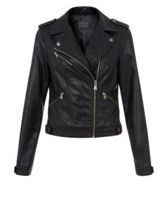 New Look - leather jacket
