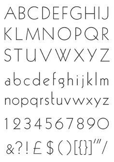 Typeface ID?