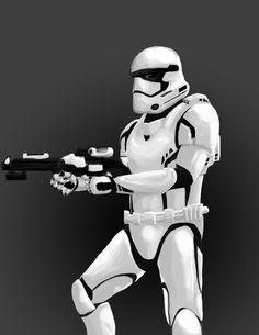 Episode 7 Stormtrooper Concept by agentspymonkey