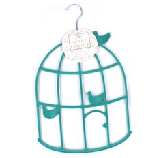 The non-slip flocking will ensure your scarves stay in place with this lovely turquoise, birdcage design, scarf hanger. Makes a wonderful gift idea for someone who loves scarves. size: x (including hanger). Comes wrapped in pink tissue. Charity Gifts, Charity Shop, Scarf Holder, Dogs Online, Guide Dog, Bird Cage, Flocking, Dog Treats, Hanger