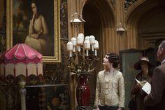 Downton Abbey S6 E6 | Cora during the open house