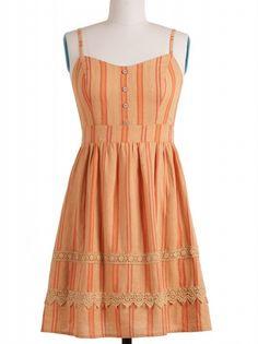 Blu Pepper Stripe Dress  $44.00