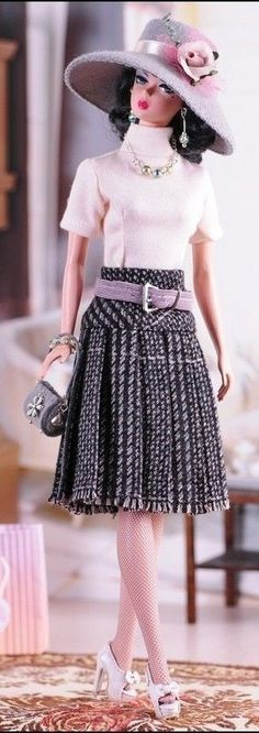 Silkstone Barbie - check out the shoes!