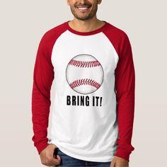 Baseball Bring It T Shirt