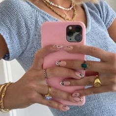 Gel Nails, Acrylic Nails, Manicure, Nail Polish, Cute Jewelry, Jewelry Accessories, Phone Accessories, Piercings, Nail Ring