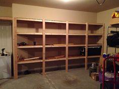 Inspiring Garage Shelf Ideas #1 Build Garage Storage Shelves ...