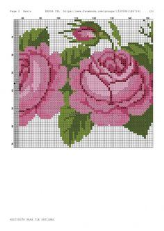 Geri Dönüşüm Projeleri Cross Stitch Animals, Cross Stitch Flowers, Cross Stitch Embroidery, Cross Stitch Patterns, Needlepoint, Needlework, Applique, Kids Rugs, Knitting