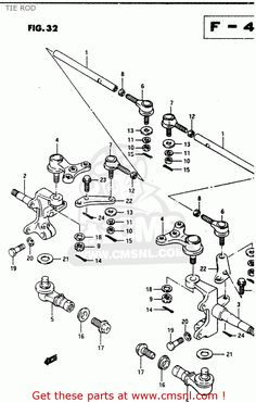 list of front end suspension parts 2001 ford f150 xlt click thetie rod schematic google search