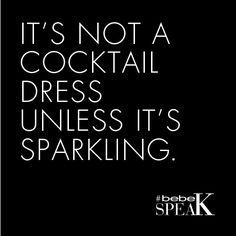 Make sure you SPARKLE!