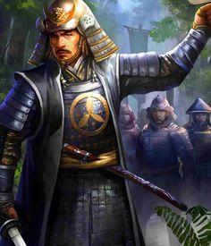 Yamauchi Kazutoyo Fantasy Heroes, Fantasy World, Fantasy Characters, Character Creation, Character Art, Character Design, Bushido, Samurai Artwork, The Elder Scrolls