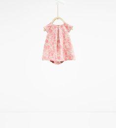 ZARA - SALE - Brocade dress