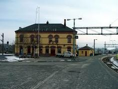 The train station - Honefoss, Norway