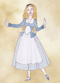 So i have started doing my own little mini project of putting Disney characters into 18th century dresses, still tying to reflect their costume from in the real films. This is Belle from Beauty and...