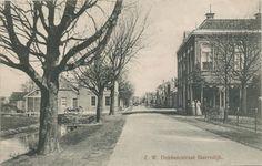 Gorredijk - Z.W. Dubbelestraat - poststempel 1906 - Uitgave R. Kiemstra, Gorredijk.