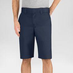 Dickies Men's Regular Fit Flex Twill 11 Short- Dark Navy 36