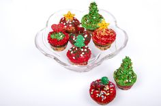 Cupcakes navideños cargados de sorpresas