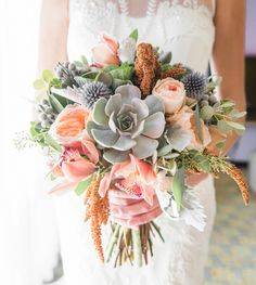 Brighten Up Your Boho Look With This Bouquet From Botanica