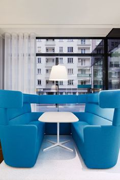 News on office furniture, seating, loose and contract furniture, interior design, architecture but also new work and lifestyle. Commercial Interior Design, Office Interior Design, Commercial Interiors, Commercial Furniture, Contract Furniture, Office Furniture, Office Decor, Furniture Styles, Modern Furniture