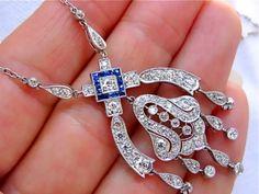 www.MelsAntiqueJewelry.com   Mels Antique Jewelry     Finest Antique Diamond Jewelry!
