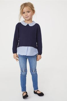 Denim Leggings – About Children's Clothing Outfits Niños, Girls Fall Outfits, Little Girl Outfits, Little Girl Fashion, Cool Outfits, Little Girl Style, Summer Outfits, Girls Dresses, Toddler Girl Style